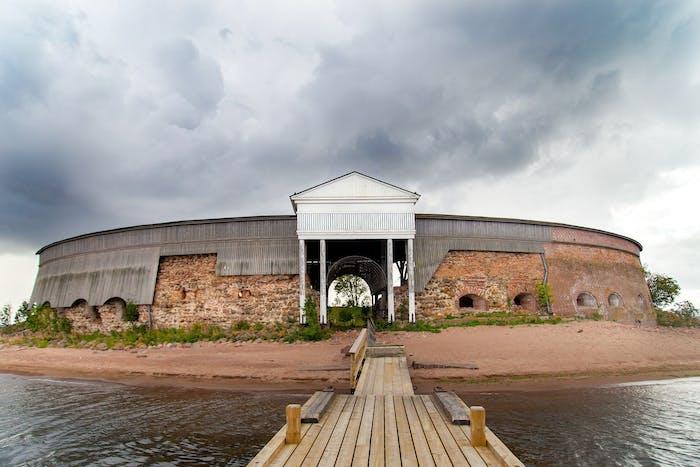 Ruotsinsalmen kadonnut linnoituskaupunki