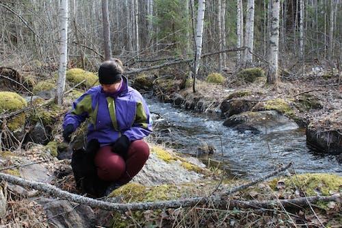 Nukula Toimelias loma metsän ja järven lähellä Toivakka