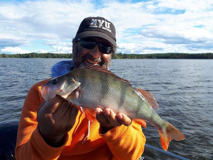 Kahden päivän kalastusreissu kalaisaan saaristoon